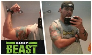 Eric Padilla - Body Beast Results