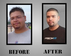Eric Padilla - P90X Transformation
