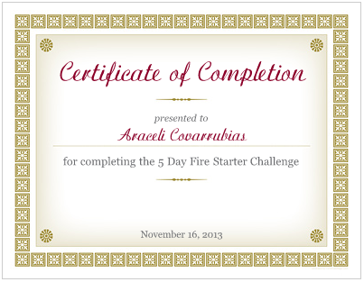 weight loss challenge winner certificates