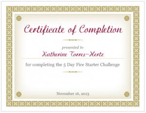 Katherine Torres-Hertz  - Fire Starter Challenge Graduate