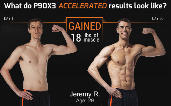 P90X3 Transformation - Jeremy